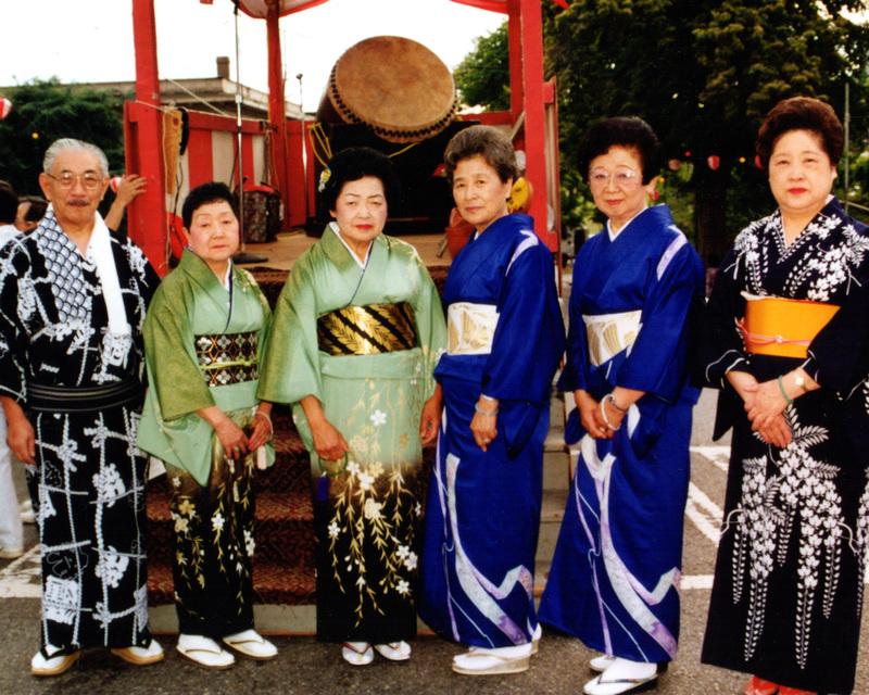 Seattle Betsuin Buddhist Temple Bon Odori Festival, 1991
