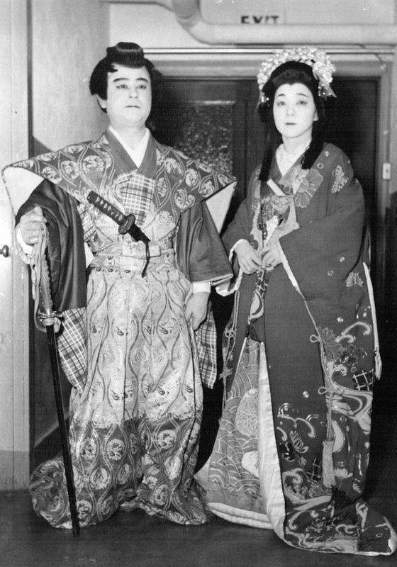 Ted Tomita, Sr. and Kiki Hagimori, c. 1951